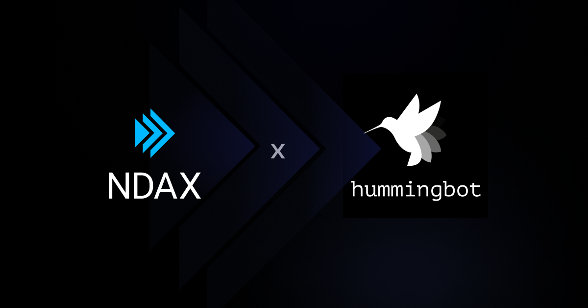 NDAX x Hummingbot: Partnership announcement for advanced market makers